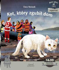 O kocie uchodźców. Kot, który zgubił dom