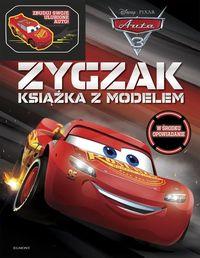 Auta 3 Zygzak. Książka z modelem