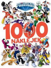 Super Przyjaciele DC. 1000 naklejek