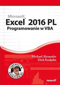 Excel 2016 PL. Programowanie w VBA