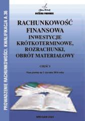 Rachunkowość Finansowa część I PADUREK