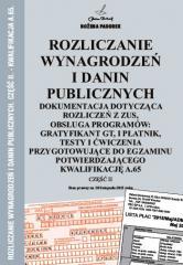 Rozliczanie wynagrodzeń i danin publicznych cz.II