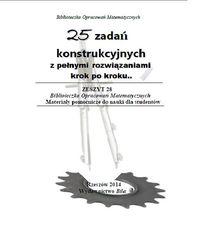 25 zadań konstrukcyjnych z pełnymi rozwiązaniami