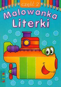 Malowanka - Literki cz. 2 LITERKA