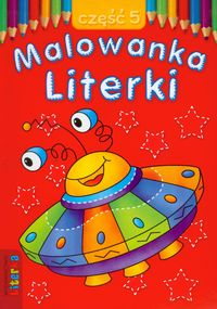 Malowanka - Literki cz. 5  LITERKA