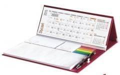 Kalendarz 2020 Biurkowy Stojący z długopisem