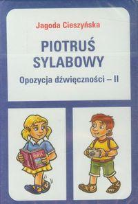 Piotruś sylabowy - Opozycja dźwięczności II WE
