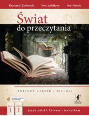 J.Polski LO Świat do przeczytania 1/1 w.2012 NPP