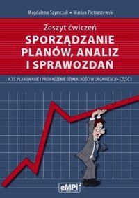 Sporządzanie planów, analiz i sprawozdań-ćwiczenia