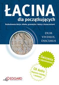 Łacina dla początkujących (książka + audio CD)