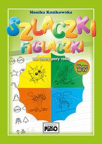 Szlaczki figlaczki na cztery pory roku klasa 3 i 4