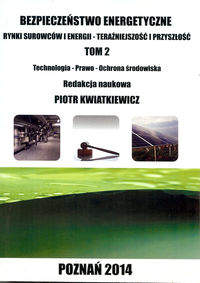 Bezpieczeństwo energetyczne T.2
