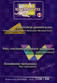 Miniatury matematyczne 54 Konstrukcje geometryczne