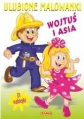 Ulubione malowanki - Wojtuś i Asia