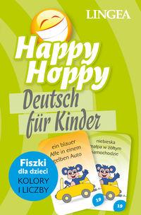 Happy Hoppy. Fiszki dla dzieci. Kolory i liczby