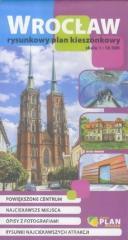 Plan kieszonkowy rysunkowy wersja polska - Wrocław