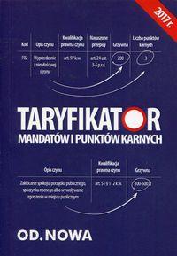 Taryfikator mandatów i punktw karnych