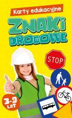 Karty edukacyjne. Znaki drogowe