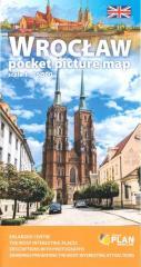 Plan kieszonkowy rys.-Wrocław w.angielska 1:16 500