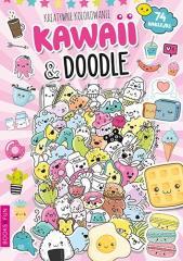 Kreatywne kolorowanie Kawaii and Doodle