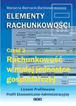 Elementy rachunkowości cz 2 podr +CD gratis REA