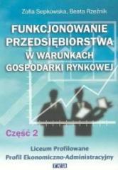 Funkcj. przeds. w war. gosp. rynk. cz 2 REA