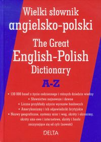 Wielki słownik angielsko - polski A-Z Delta