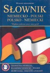 Słownik niem-pol-niem kieszonkowy twarda GREG
