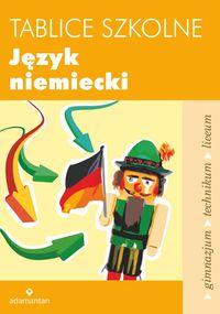 Tablice szkolne Język niemiecki w.2014