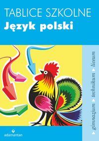 Tablice szkolne Język polski w.2014