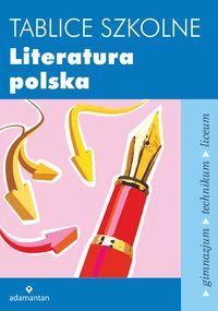 Tablice szkolne Literatura polska w.2014