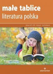 Małe tablice. Literatura polska w.2019 ADAMANTAN