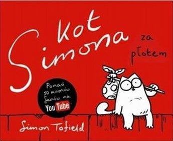 Kot Simona. Za płotem