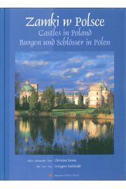 Zamki w Polsce Castles Burgen und Schlosser wersja polsko angielsko niemiecka. Outlet
