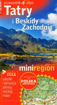 Mini region Tatry i Beskidy przewodnik   atlas