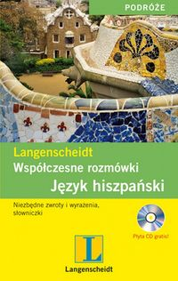 Współczesne rozmówki Język hiszpański   CD