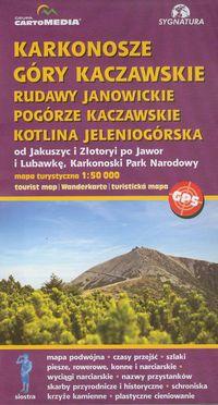 Karkonosze Góry Kaczawskie Rudawy Janowickie Pogór