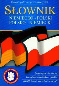 Słownik niem-pol-niem kieszonkowy broszura GREG