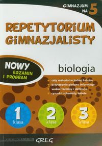 Repetytorium Gimnazjalisty biologia