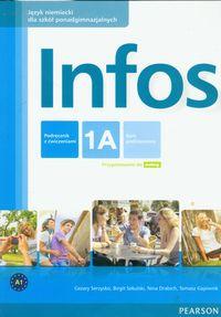 Infos 1A podręcznik z ćwiczeniami+CD PEARSON