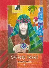 Malowanka - Święty Józef