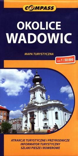 Mapa turystyczna - Okolice Wadowic 1:50 000