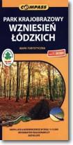 Mapa turystyczna - PK Wzniesień Łódzkich 1:30 000