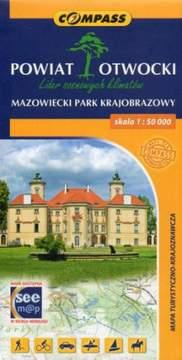 Mapa tur-krajoznawcza - Powiat Otowcki 1:50 000