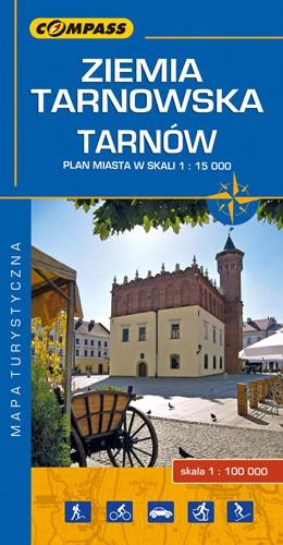 Mapa turystyczna - Ziemia Tarnowska, Tarnów