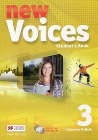 Voices New 3 SB MACMILLAN podręcznik wieloletni
