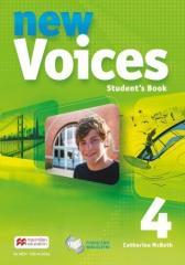 Voices New 4 SB (wersja wieloletnia) MACMILLAN