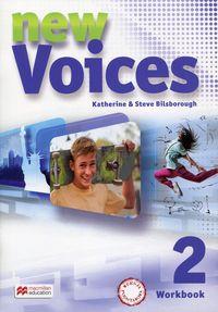 Voices New 2 WB MACMILLAN wieloletnie