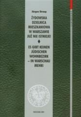 Żydowska dzielnica mieszkaniowa w Warszawie...