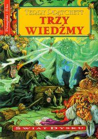 Świat Dysku - Trzy wiedźmy - Terry Pratchett